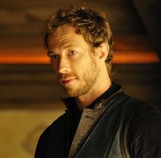 Kris Holden-Reid, aka Dyson. Wouldn't he make the perfect Atticus O'Sullivan from Kevin Ahearn's Iron Druid series?