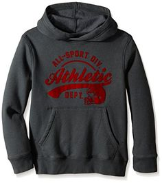 The Children's Place Big Boys' Popover Hoodie *** Check this awesome image @