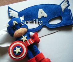 Le creazioni di Sarlilla: Capitan America & Spider man