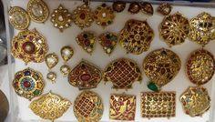 Gold Temple Jewellery, Gems Jewelry, Jewelry Crafts, Custom Jewelry, Unique Jewelry, Jewelry Design, Ornaments Design, Jewelry Patterns, Indian Jewelry