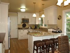 L-shaped Kitchen With Peninsula 7 Design Inspirations