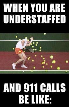When you're understaffed...