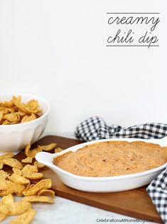 Creamy Chili Dip — Celebrations at Home