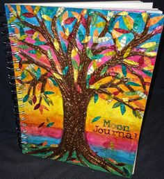 Hello Fellow Lovers of Paper Art! I am so excited to share the project I made for the Design Team Kall over at the Kraaft Shaak . Mixed Media Canvas, Mixed Media Art, Gelli Arts, Journal Covers, Metallic Paint, Altered Art, Printmaking, Paper Art, Diy Crafts