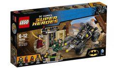 New LEGO Batman: Rescue from Ra's al Ghul Set!