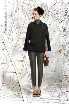 Capes!!  Red Valentino Fall 2012 Ready to Wear