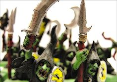 """https://flic.kr/p/EHKJn2   Photo Series: World of Warhammer: 'Hockey Riots""""   These figures painted by T. Whytock"""