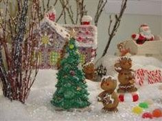 My gingerbread collection: I collect ceramic gingerbread houses & make a winter-wonderland on Christmas as decoration. -Mari, copyrighted (u may pin but please keep my name)