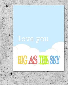 Love You Big As The Sky // Portrait // INSTANT by AllOurDays