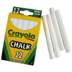 Shop for Crayola White Chalk - Get free delivery On EVERYTHING* Overstock - Your Online Home Improvement Shop! Chalkboard Mason Jars, Chalk Paint Mason Jars, Wine Bottle Crafts, Mason Jar Crafts, Wine Bottles, Tinted Mason Jars, Diy Farmhouse Table, Farmhouse Ideas, Jars