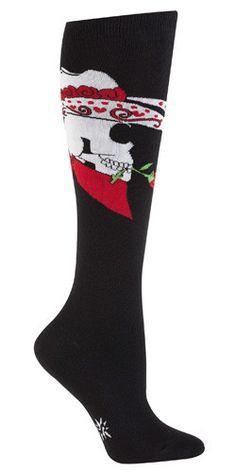 Dead Or Alive Knee Socks. Approximately fits women's shoe size 5-10.