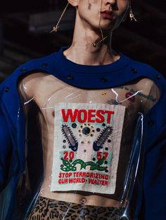 Walter Van Beirendonck rallies against an intolerant world