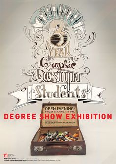 Degree show poster on Behance My Design, Graphic Design, Poster On, Serendipity, My Works, Behance, Type, Logo, Night