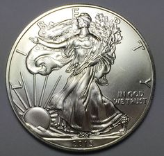 2015 Silver American Eagle 1 Oz .999 Fine One Dollar BU Brilliant Uncirculated