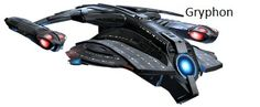 Gryphon Class Federation Escort: ugliest ship in the Federation.