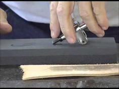 Helpful Hints: Sharpening Swivel Knife Blade - YouTube