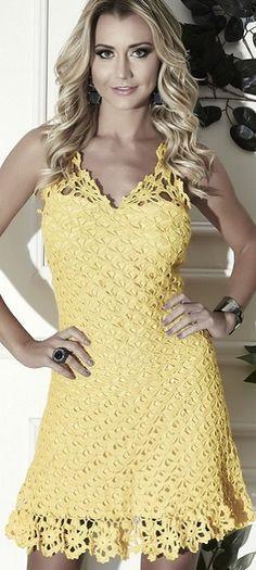 cool Crochet dress pattern
