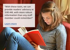 Novelist is a wonderful readers advisory resource for professionals & casual readers alike.