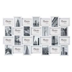 Cornice foto bianca in legno 60 x 102 cm DÉCALAGE