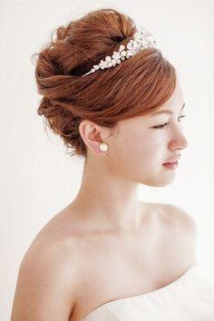 51 Best Tiara Hairstyles Images Bridal Hair Wedding Hair Styles