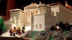 Conoce la Acrópolis de Atenas hecha con LEGO