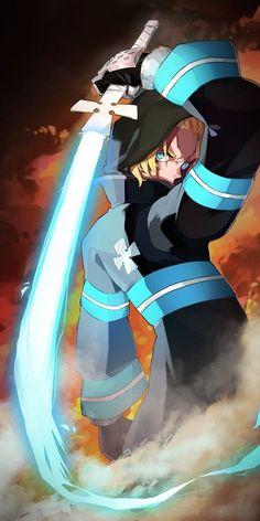 Otaku Anime, Anime Naruto, Anime Guys, Manga Anime, Fanarts Anime, Anime Characters, Character Art, Character Design, Shinra Kusakabe