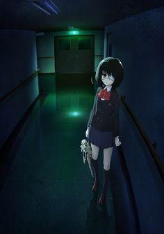 Another Misaki Mei Anime Manga Anime, Manga Art, Anime Art, I Love Anime, Me Me Me Anime, Anime Cosplay, Another Misaki Mei, Anime Tumblr, Anime Release