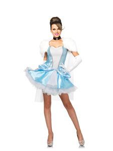 Slipper-less Sweetie Adult Womens Costume - 346911 | trendyhalloween.com #cinderellacostumes #womenscostumes #cinderella #disneycostumes