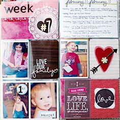Project Life 2013 - Week 7 - Left by heathergw - Cards and Paper Crafts at Splitcoaststampers