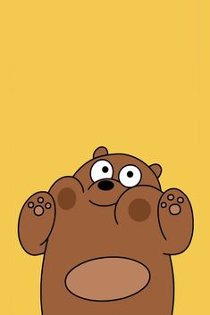 Grizzly pandas bare bears we wallpapers cute animated animals wallpaper Cartoon Wallpaper Iphone, Cute Disney Wallpaper, Kawaii Wallpaper, Cute Wallpaper Backgrounds, Animal Wallpaper, Aesthetic Iphone Wallpaper, Galaxy Wallpaper, Nature Wallpaper, Iphone Wallpaper Yellow