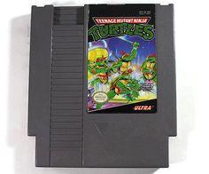 Teenage Mutant Ninja Turtles Nintendo NES 1989 by Retro8Games