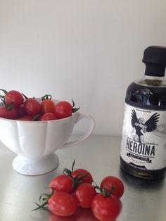 Unos tomatitos y listo!!