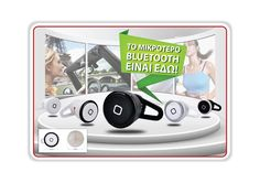 Smallest Wireless Bluetooth Mini Headset Earphone