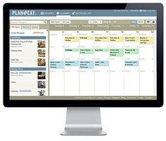 online meal planning calendar