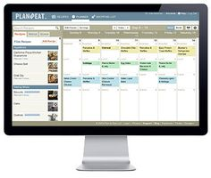 An online meal planner that works with my personal meal planning system! Goes with me on my phone too!