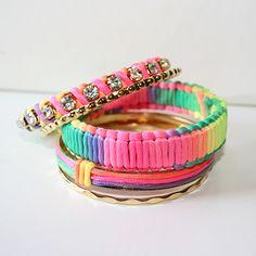 Neon Fever Bracelet Set $19