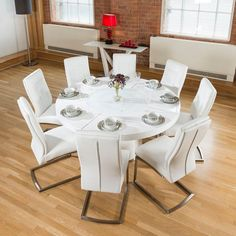 "850T16Hb228X6736Blacklr3  The Gorgeous ""850"" Dining Table Stunning Round Dining Room Table Seats 8 Inspiration"