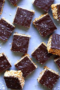 No-Bake-Schokoladen-Erdnussbutter Bars