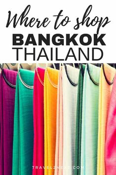 4125178bc92 Bangkok shopping - A guide to shopping in Bangkok including best shopping  malls and markets.