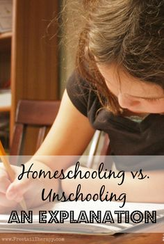 Homeschooling and Unschooling - An Explanation - Freetail Therapy Frugal, Homeschooling, Back To School, Children, Kids, Therapy, Parenting, Teaching, Board