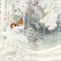 christmas card design by Jane Crowther