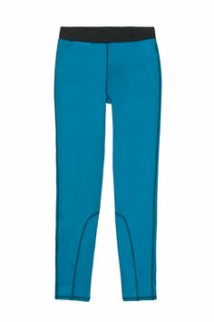 """10 Leggings Perfect For Spring Workouts #refinery29  http://www.refinery29.com/workout-leggings#slide1  """"It provides full coverage, but the fabric isn't too thin, which means this pant will keep your legs and muscles warmed up for a variety of low-impact workouts,"""" says Jade. These leggings also score eco points as they're made out of sustainable recycled polyester/spandex. Jade suggests pairing these with low-impact classes that require flexibility. Think Pilates, megaformer workouts, power…"""