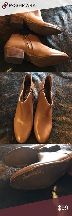 "Sam Edelman ""'Petty' Chelsea boot Perfect condition. Never worn. NWOT. Nordstrom is selling these for $99 right now These booties are THE seasons best of. Get them now!!! 😊 Sam Edelman Shoes Ankle Boots & Booties"