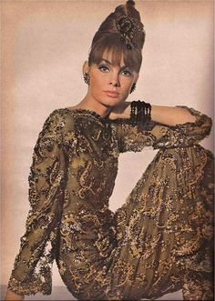 Jean Shrimpton for Vogue, November 1963