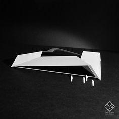 Conceptual Building Model  #architecture #Building #Model #design #concept #minimalism #urban #dubai