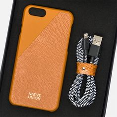 Чехол Native Union Leather Edition iPhone 6/6s Gold фото- 7