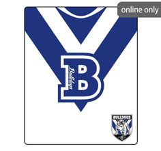 nrl-team-logo-polar-fleece-printed-155x127cm-throw-canterbury-bankstown-bulldogs