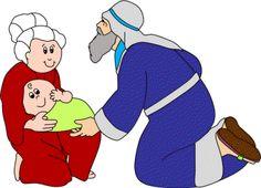 Abraham Sarah And Baby Isaac Story Pages Bulletin Board