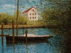 Bords de l'eau, Argenteuil (d'après C Monet - W 329),1874.