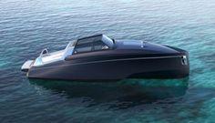 REV 32 Mega Yacht Tender Concept By Reversys Boat